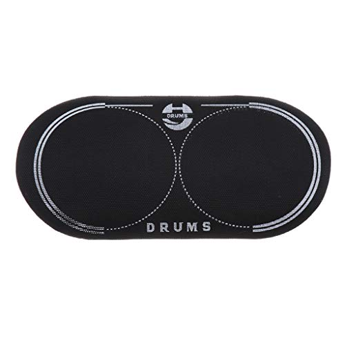 (SM SunniMix Bass Drum Double Pedal Patch with Pattern Protection for Musical Instrument Accessory/Parts)