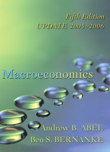 Macroeconomics Update Edition plus MyEconLab in CourseCompass (5th Edition)