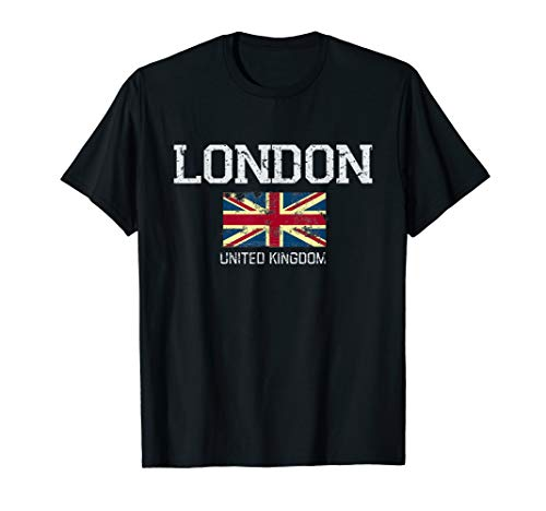 Classic England Rugby Shirt - Vintage London United Kingdom Gift T-Shirt