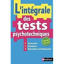 L'INTEGRALE DES TESTS PSYCHOTECHNIQUES 2018