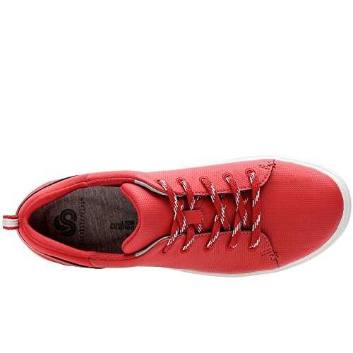 Clarks Women's Step Verve Lo. Low-Top Sneakers Red FLCsw4N
