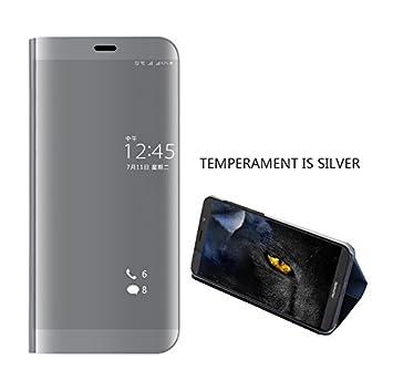 Huawei Mate 10 Lite espejo Funda de espejo Flip Case, Espejo ...