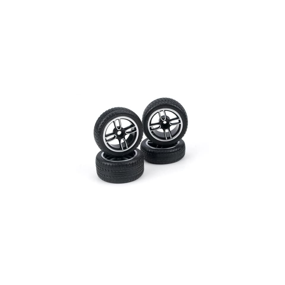 1/14 Tire/Wheel St (4) Mini Cooper JCW CIS14314