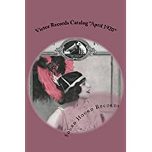 "Victor Records Catalog ""April 1920"""