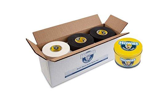 - Howies Hockey Tape -6 White Cloth & 6 Black Cloth