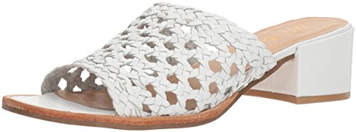 Matisse Women's Ditsy Sandal, White, 8 M US