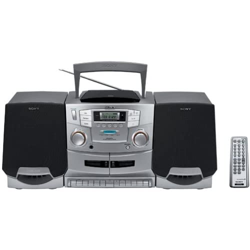 Image of Boomboxes Sony CFD-ZW755 Portable CD / Cassette / Radio Boombox with Detachable Speakers