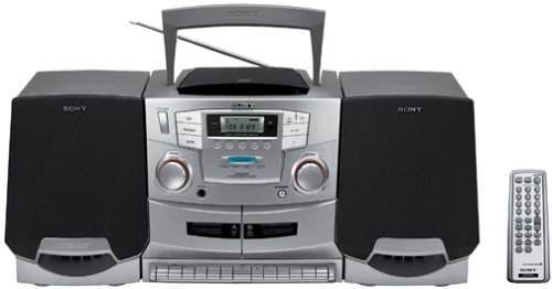 Sony CFD-ZW755 Portable CD / Cassette / Radio Boombox with Detachable Speakers