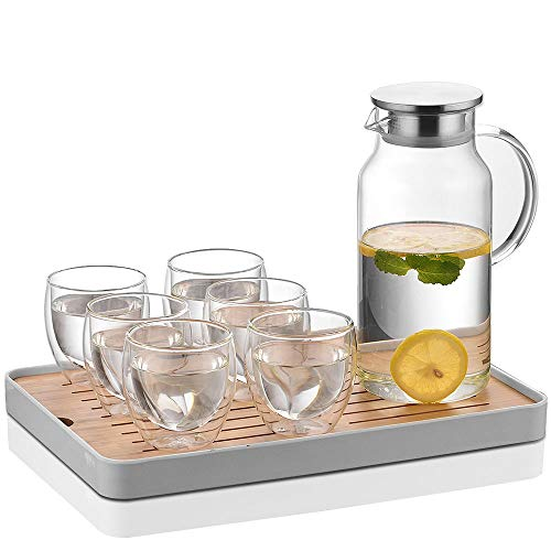 pitcher tray set - 5