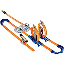 Hot Wheels Builder Total Turbo Takeover Track Set