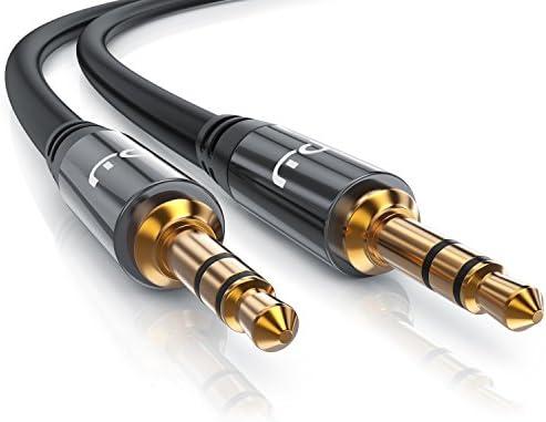 Stecker-Kabel Aux-Audiokabel Audio-Verbindungsleitung 3,5-mm-Stecker