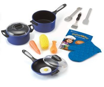 Game / Play Learning Resources Pretend & Play Pro Chef Set, pretend, play, learning, resources, pretend Toy / Child / Kid