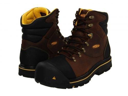 Keen Utility(キーン) メンズ 男性用 シューズ 靴 ブーツ 安全靴 ワーカーブーツ Milwaukee Slate Black [並行輸入品] B07BMC9XHG 10.5 D Medium