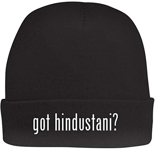 Hindustani Slide - Shirt Me Up got Hindustani? - A Nice Beanie Cap, Black, OSFA
