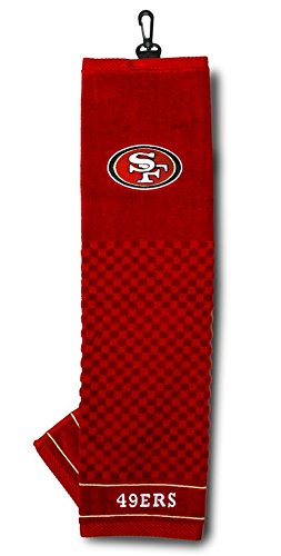 San Francisco 49ers 16''x22'' Embroidered Golf Towel