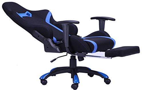 Mr Direct Blue High Back Recliner Office Chair Computer Racing Gaming Chair Mr Direct