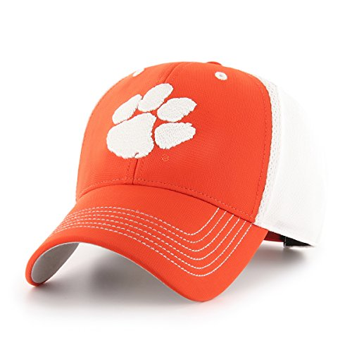 Clemson Tigers Hat (NCAA Clemson Tigers Sling OTS All-Star Adjustable Hat, Orange, One Size)