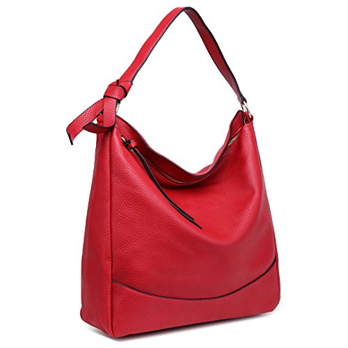 Lulu Shoulder For Miss Fashion Soft Women Faux Handbag Leather Red Bag Large 1761 Girl wFYgdqF