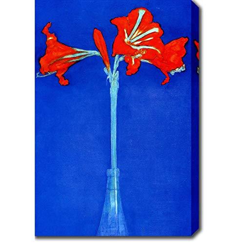 - YGC Piet Mondrian 'Amaryllis Artist' Oil on Canvas Art - Multi