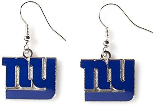 NFL New York Giants Logo Dangler Earrings ()