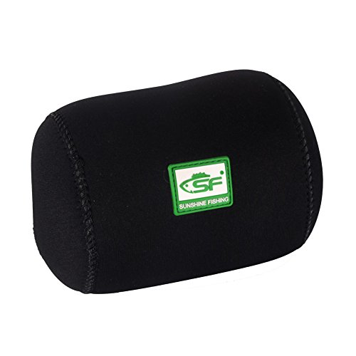 SF Casting Baitcast Reels Cover Case Reel Pouch Glove for Fits 50 100 200 300-Series Baitcaster (Neoprene Fishing Reel Cover)