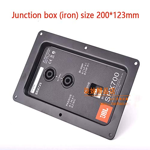 Gimax JBL speaker wiring back panel Professional stage speaker junction box connector Double 4 core ohm head to send stickers 8 - (Color: 2pcs a pack)