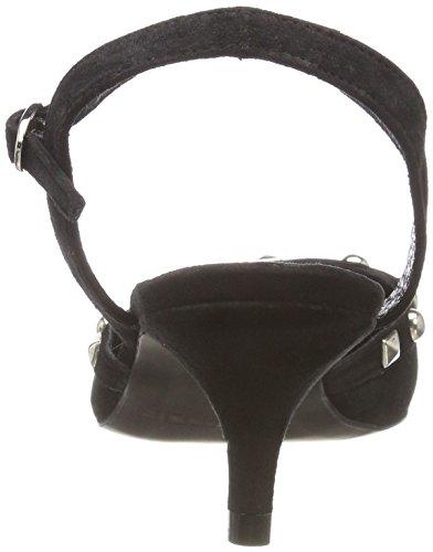Sandal Femme Mentor Escarpins Pump Black 010 Noir Bride Arriere qAwS5xzwXZ
