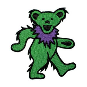 Bear Dancing Green - Grateful Dead Garcia Patch - 2