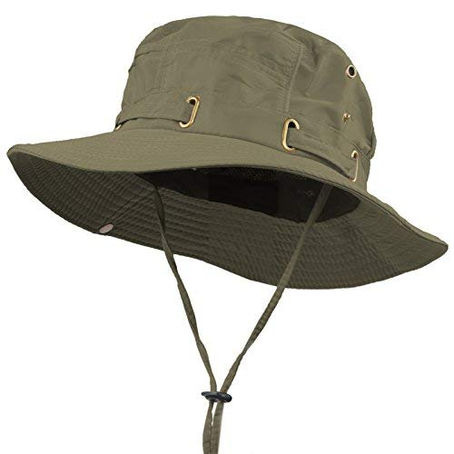 57d1739277e3c Quick-dry Cool Sweat-wicking Outdoor Jungle Bush Boonie Caps Bucket Fishing  Hats (