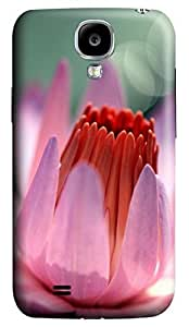 Brian114 Samsung Galaxy S4 Case, S4 Case - 3D Print Pattern Hard Cover for Samsung Galaxy S4 I9500 Light Purple Petals Extremely Protective Case for Samsung Galaxy S4 I9500