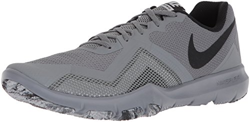 Nike Flex Control II, Chaussures de Fitness Homme Cool Grey/Black-spee