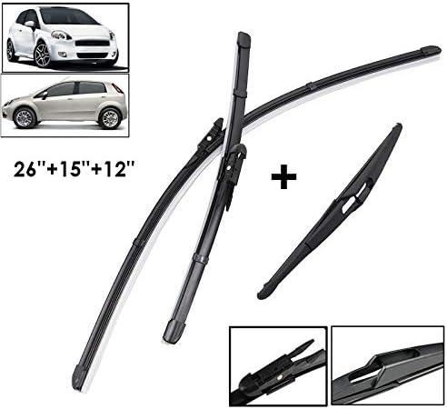 Punto Evo Rear Wiper Blade Back Windscreen Wiper 2010-2012