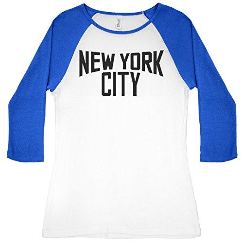 New York City Pride: Slim Fit Bella 3/4 Sleeve Raglan ()