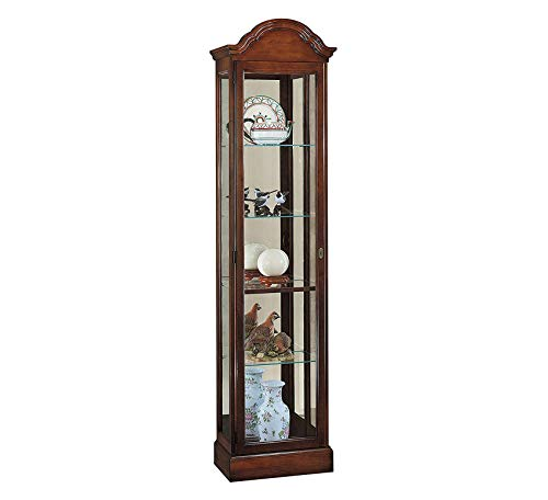 Gilmore Cabinet - Wood & Style Furniture Gilmore Curio Cabinet Home Office Commerial Heavy Duty Strong Décor