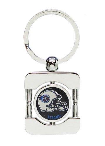 Tennessee Titans Executive Silver Key Chain - NFL Football Fan Shop Sports Team Merchandise ()