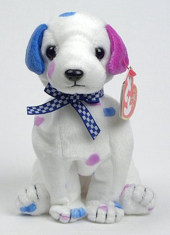 37d94912ef8 Buy TY Beanie Baby - DIZZY the Dalmatian (colored spots   colored ears)  Online at Low Prices in India - Amazon.in
