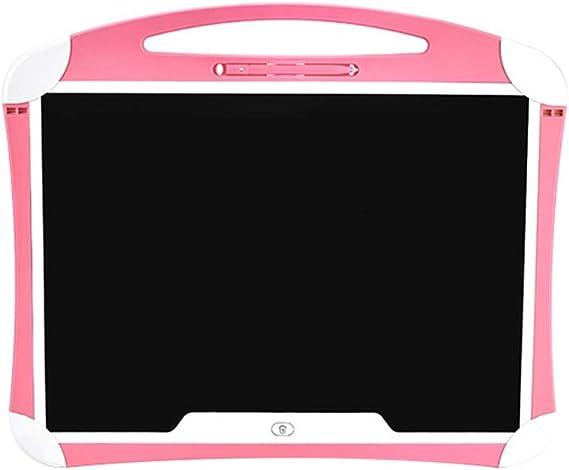 LCDライティングタブレット20インチ描画落書きボードポータブル電子機器のデジタル手書きパッド ペン&タッチ マンガ・イラスト制作用モデル (Color : Pink)