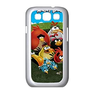 Angry Birds Samsung Galaxy S3 9300 Cell Phone Case White Exquisite gift (SA_703317)
