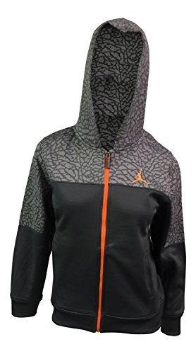 Jordan Big Boys' Therma-fit Camo Printed Full-zip Jacket ((M (10-12 YRS), Dar...