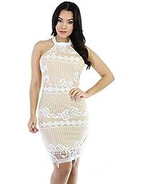 Wavy Knitting Sleeveless Dress · GITI ONLINE
