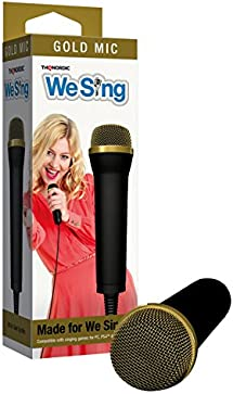 THQ Nordic We Sing Gold Top Microphone - PlayStation 3/2/1 8422