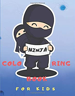 Ninja Coloring Book for Kids: Coloring Pages for toddlers ...