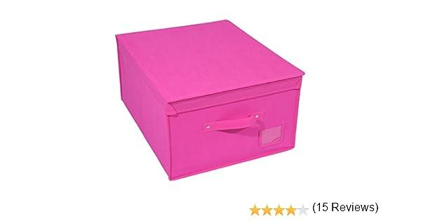 Caja de almacenamiento para ahorrar espacio, tela no tejida, 50 x ...