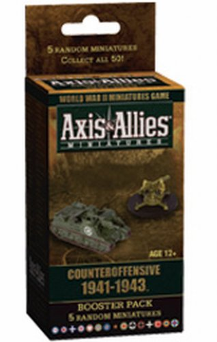 Axis and Allies Miniatures Counter Offensive 1941-1943 An Axis and Allies Miniatures Booster Game Expansion (And Allies Axis Miniatures)