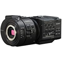 Sony NEX-FS700 R 4K Sensor High Speed NXCAM Super35 Camcorder Body, 8.3MP HD, 3.5 LCD Screen, Up to 960fps Super Slow Motion, 2 XLR/HDMI & 3G/HD-SDI