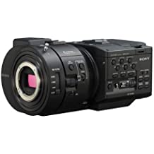 "Sony NEX-FS700 R 4K Sensor High Speed NXCAM Super35 Camcorder Body, 8.3MP HD, 3.5"" LCD Screen, Up to 960fps Super Slow Motion, 2 XLR/HDMI & 3G/HD-SDI"