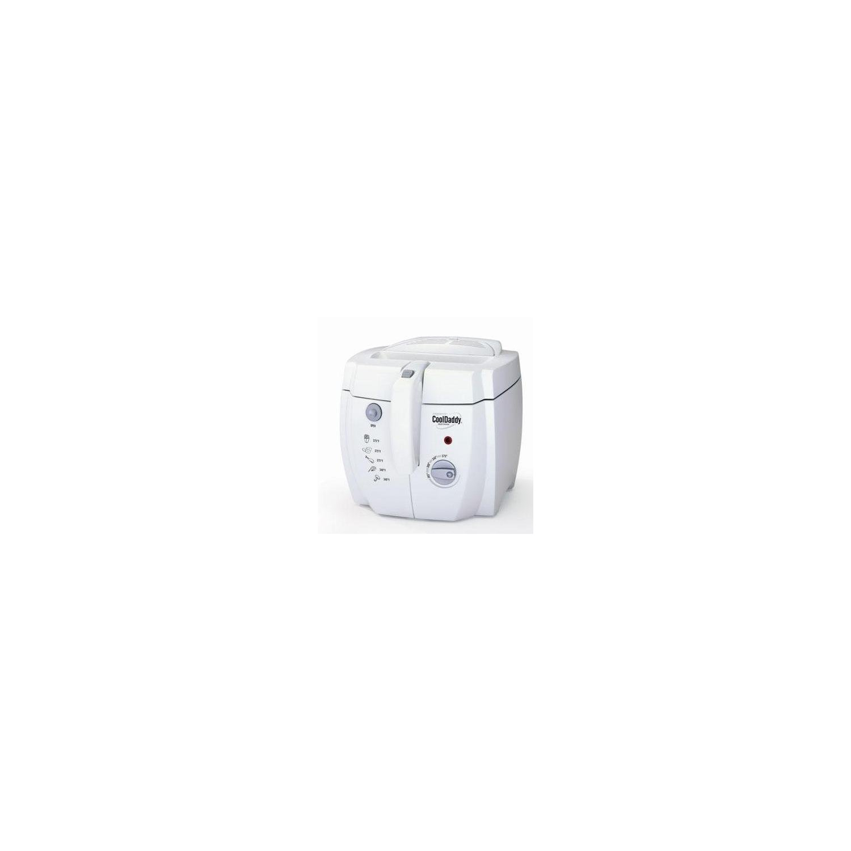 Presto Cool Daddy Deep Fryer Removable Nonstick Pot Big 6 Serving Capacity Handy Indicator Light