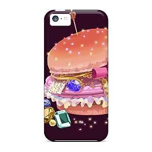 Premium Bwckkbk4626bPoCR Case With Scratch-resistant/ Gemburger Case Cover For Iphone 5c