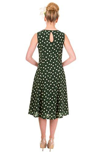 Apparel grün Variante Kleid Schlauch grün Damen Banned 0Zdwq0