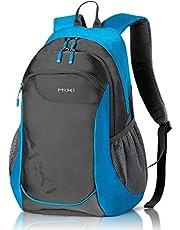 Wanderrucksack 31L Trekkingrucksack Wasserdicht Reiserucksack für Herren Frau zum Wandern, Camping, Freizeit, Sport, Outdoor 18 Zoll Blau